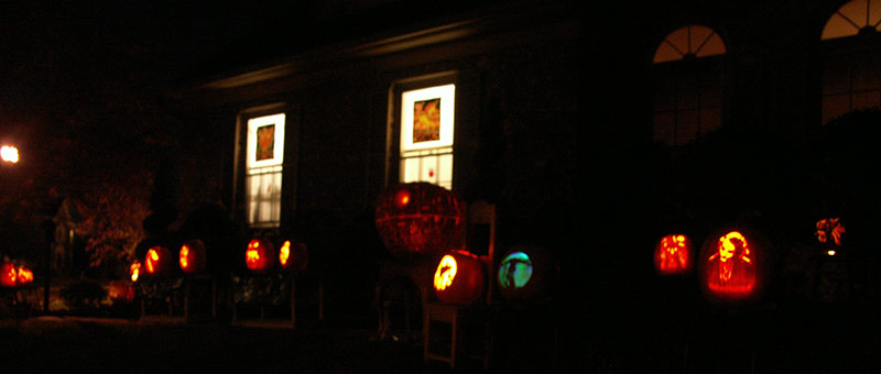 Pumpkin Carving: Display 2008 - 3