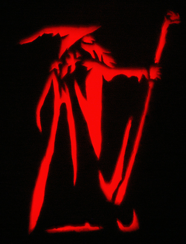 Pumpkin Carving: Gandalf - Noel