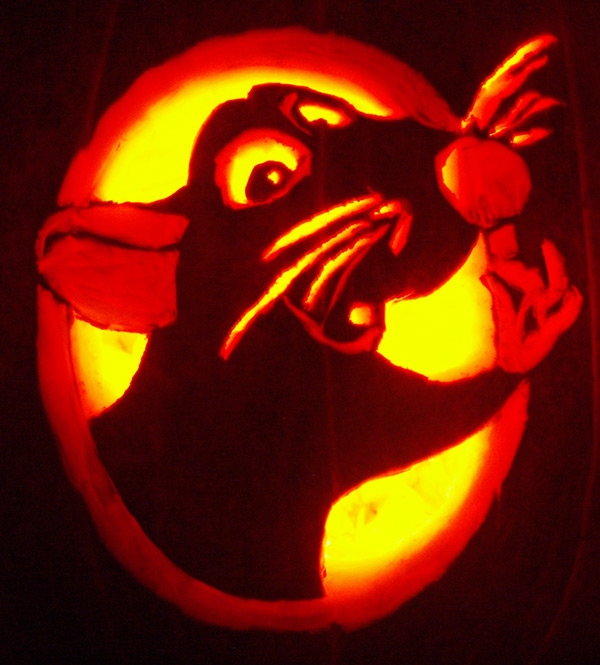 Pumpkin Carving: Ratatouille - Justin