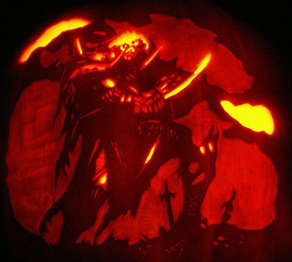 Pumpkin Carving Vampir...