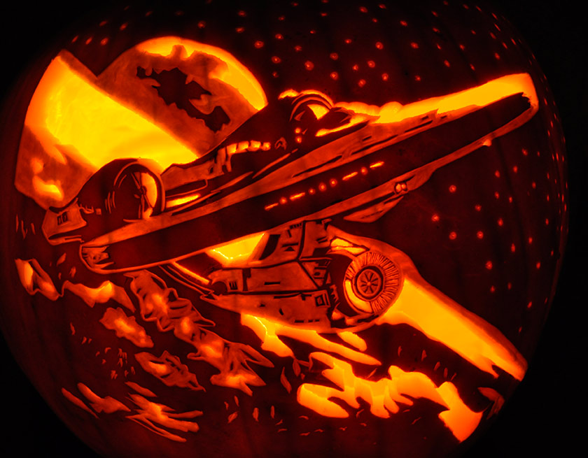 Pumpkin Carving: New Enterprise - Noel