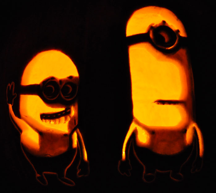 Pumpkin Carving: Despicable Me Minions - Nam
