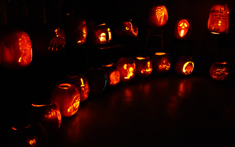 Pumpkin Carving: 2010 Display for Fox News - 2