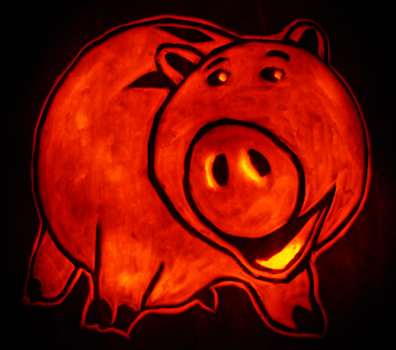 Pumpkin Carving: Hamm - James