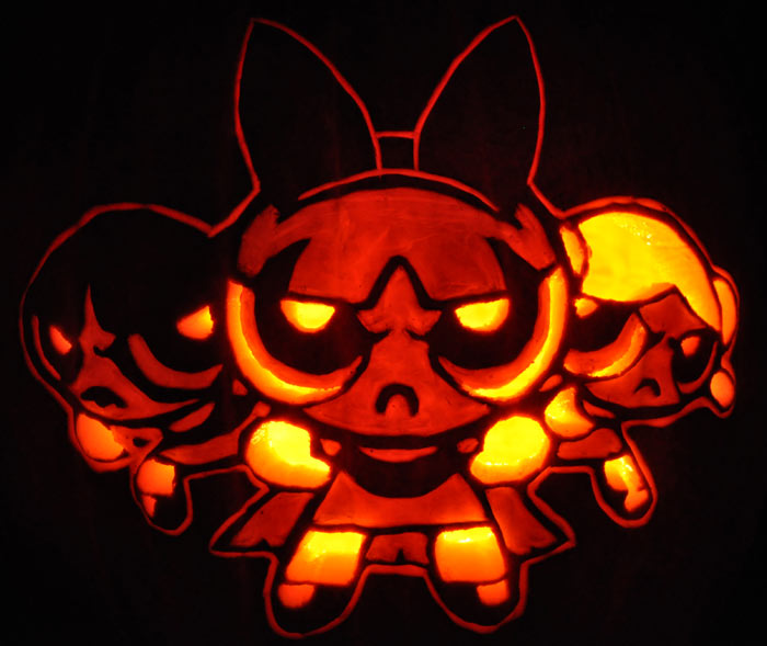 Pumpkin Carving: Powerpuff Girls - James