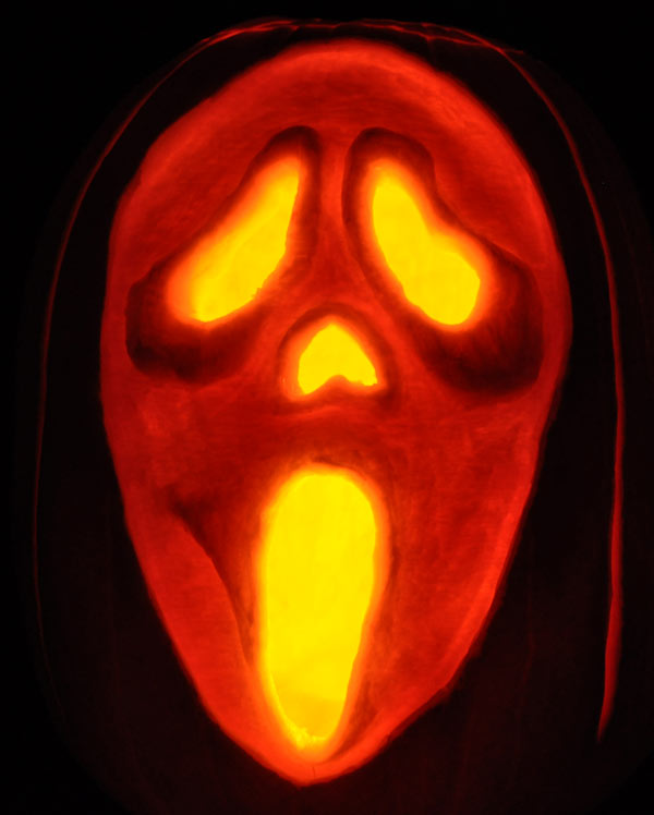 scream pumpkin template - fantasy pumpkins noel 39 s pumpkin carving archive