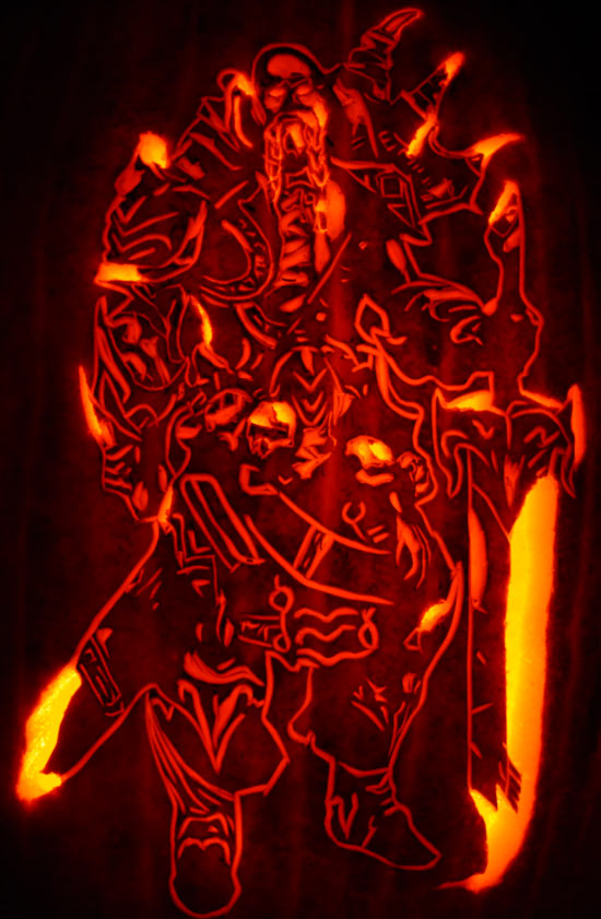 Pumpkin Carving: Maliken - Heroes of Newerth (HON) - Justin