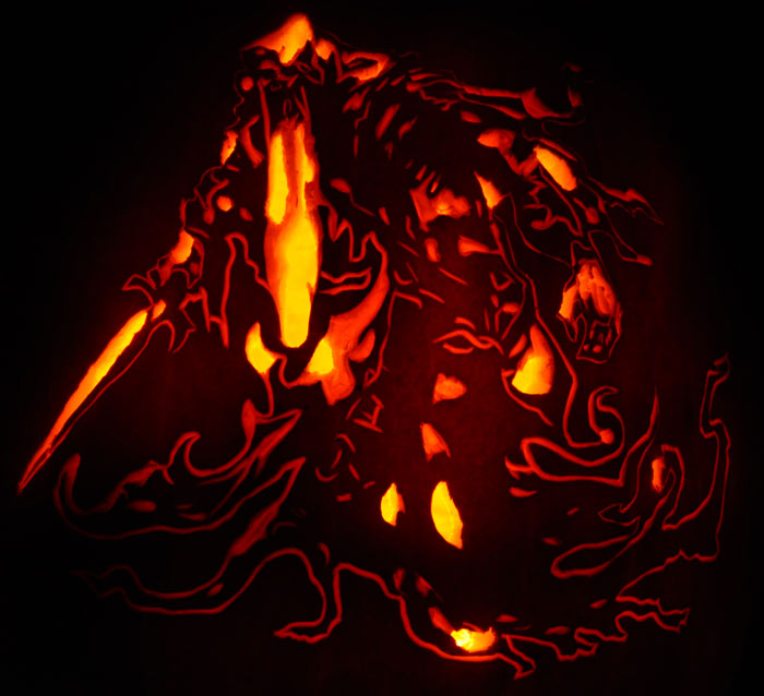 Pumpkin Carving: Sandwraith - Heroes of Newerth (HON) - Justin