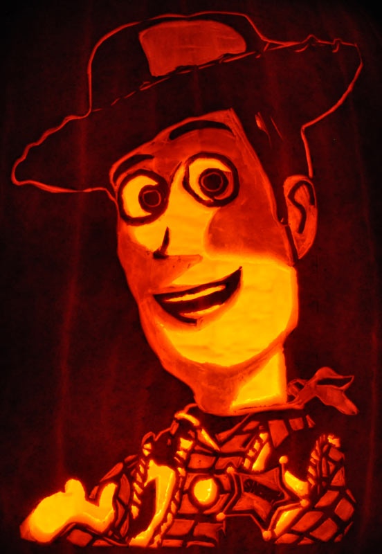 Pumpkin Carving: Woody - Tom