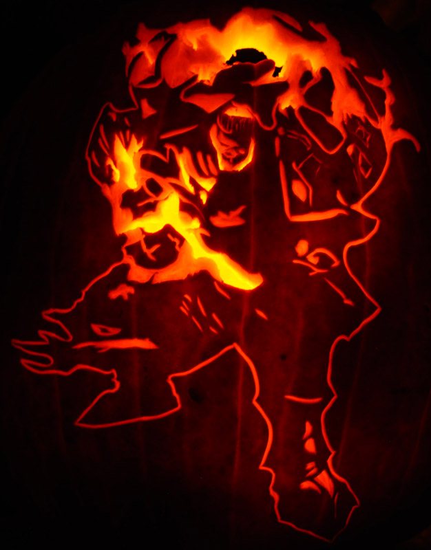 Pumpkin Carving: Corruption - Justin