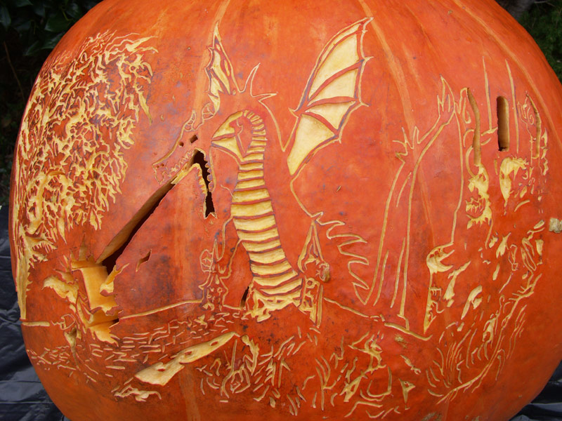 Image Result For Carved Pumpkin With