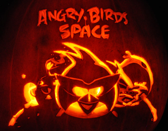 photograph regarding Angry Birds Pumpkin Carving Patterns Printable named Myth Pumpkins: Noels Pumpkin Carving Archive - Pinterest