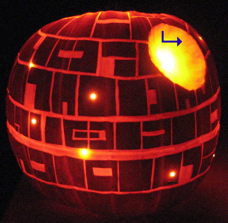 Carving The Death Star